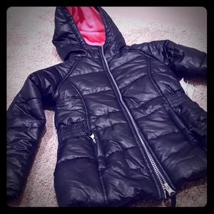 NWT Black Puffer Jacket for Girls
